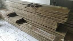 Assoalho bruto Tabuas Canela e Peroba 2,5 cm madeira de demolição m² R$ 90,00