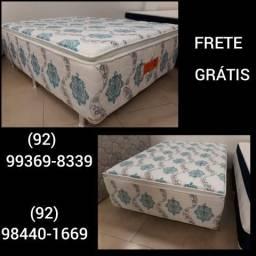 Cama Box Casal Premium Espuma Pelmex Progressiva