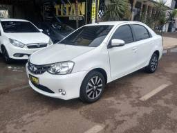 Etios 1.5 sedan ano 2015. Ent. R$12.000 - TITAN MULTIMARCAS - 2015