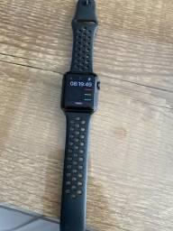 Apple Watch série 3 38 mm preto+pulseira Nike