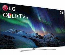 Smart Tv 4k Lg Oled 55 Ultra Hd, Webos 3.5, Hdr Wifi, 55b7p