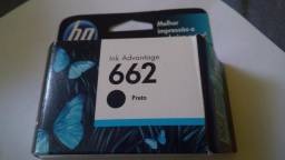 Cartucho hp preto 662 original