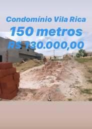 Terreno Residencial Vila Rica - Jardins do Império