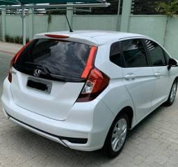 Honda Fit LX - 18/18 - Branco Pérola - Única Dona - 2018