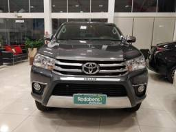 TOYOTA HILUX 2017/2018 2.8 SR 4X4 CD 16V DIESEL 4P AUTOMATICO - 2018