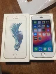 IPhone 6s Silver 16gb (aceito cartão)