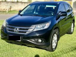 Honda crv 2.0 exl flex top de linha 2013 oferta - 2013
