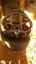Vendo ou troco roda 17 por menor