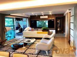Apartamento à venda com 4 dormitórios em Setor marista, Goiânia cod:NOV235908