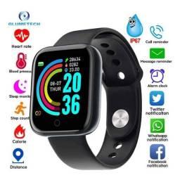 Relogio Smartwatch Bluetooth Novo