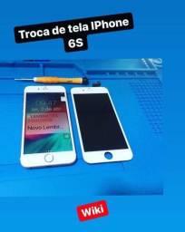 Troca de Tela Iphone 5/5s/SE (Assistência técnica especializada)Anjo da Guarda
