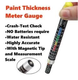 Caneta Medidor de Espessura Pintura Carro Batido Auto Lack Test