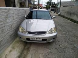 Carro: Honda Civic Lx 1,6