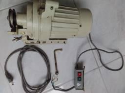 Motor máquina reta industrial Singer