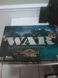 Jogo de tabuleiro WAR edição especial