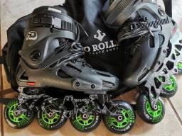 Patins Roller Hondar Evolution Profissional Base Hibrida