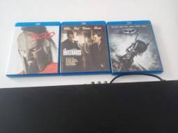 Blu ray samsung + 3 filmes