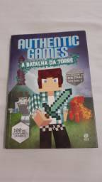Trilogia do livro de minecraft authentic games