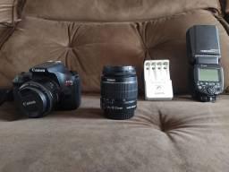 Camera Canon t6 semi nova.