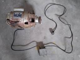 Motor de baixa rotação pra maquina de costura 1/3cv e 1740 rpm