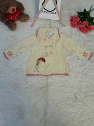 Casaco Bebê de Lã