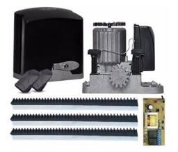Kit de motor deslizante PPA com instalação, automação deslizante residencial.