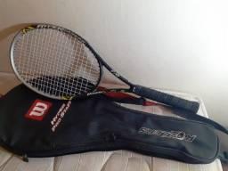 Raquetes de tênis e raqueteiras