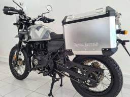Himalayan Sleet 411 EFI - Reação Suzuki