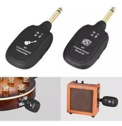 Transmissor S/fio Para Guitarra, Baixo E Violão A8. Na Caixa