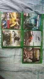 vendo alguns jogos de xbox one