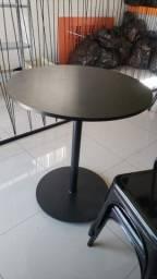 Vendo cadeiras de metal seminovas e mesas de metal no mdf
