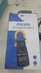 Alicate amperimetro LCD digital