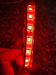 Fita de Led 5050 Vermelha 5 Metros e fonte