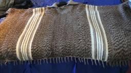 Poncho,Pala pura lã