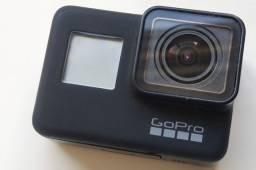 Gopro Hero 7 Black + dome + bastão flutuador