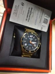 Relógio Magnum Dourado Original