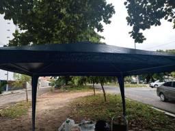 Churrasqueira + tenda
