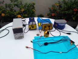 Kit manutenção assistência técnica celular