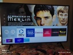 Tv smart 43 polegadas 4k  novinha