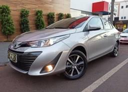 Toyota\Yaris 1.5 Xls Sedan Aut- ùnico Dono Top de Linha - 2019