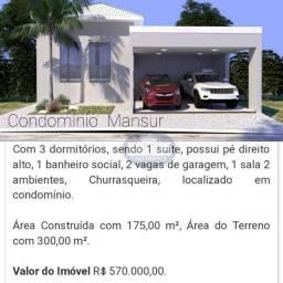 Casa com 3 dormitórios à venda, 175 m² por R$ 570.000,00 - Pinheiros - Araçatuba/SP