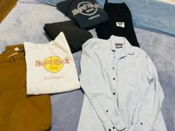 Lote roupa masculina