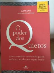 """Livro """" O poder dos quietos """""""