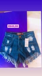Short Jeans de Vários Modelos