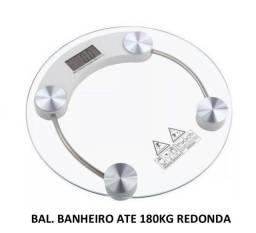 Balança de banheiro 180 Kilos redonda