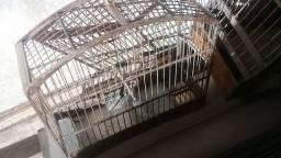 viveiro  e gaiolas usadas em promoção