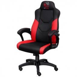 Cadeira Gamer PCYes Mad Racer V6 Turbo, Vermelha e Preta