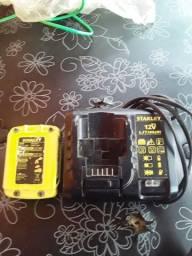 Bateria e carregador de parafuzadeira
