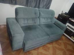 Sofá retratil e reclinavel