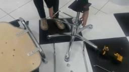 Conserto cadeiras de salao mecanica